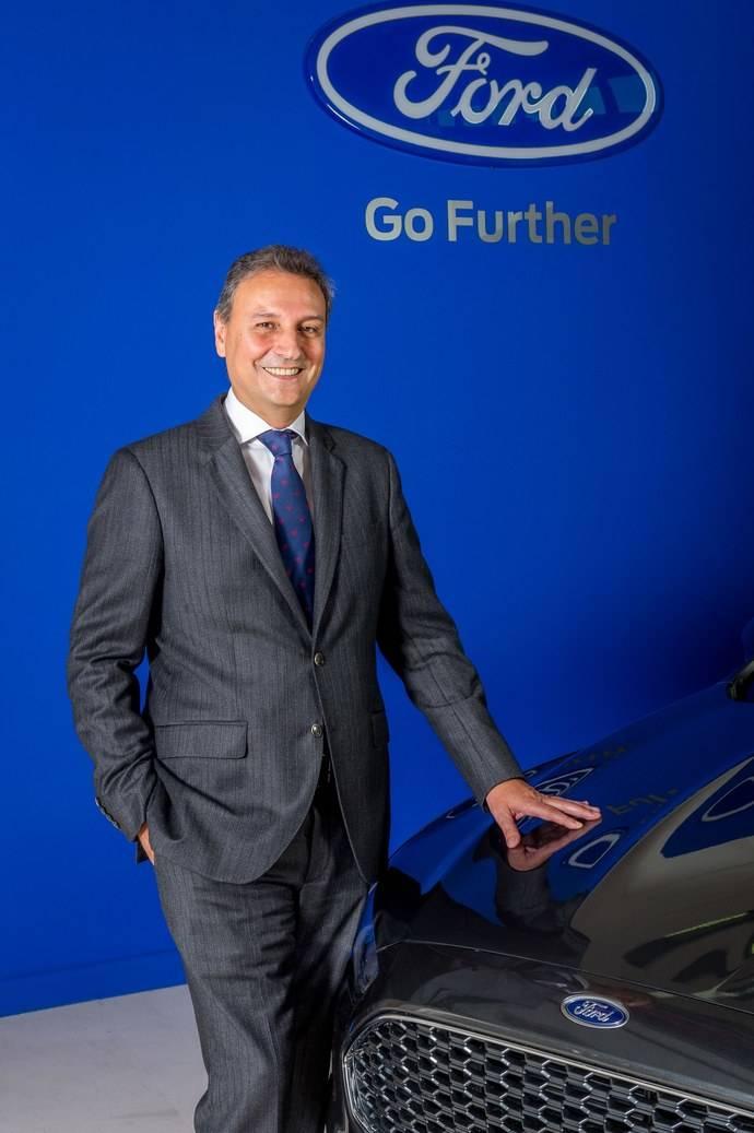 Jesús Alonso asumirá la presidencia de Ford España a partir del 1 de agosto.