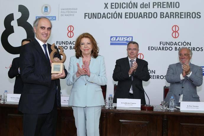 Fundación Eduardo Barreiros premia a Jorge Cosmen por su trayectoria