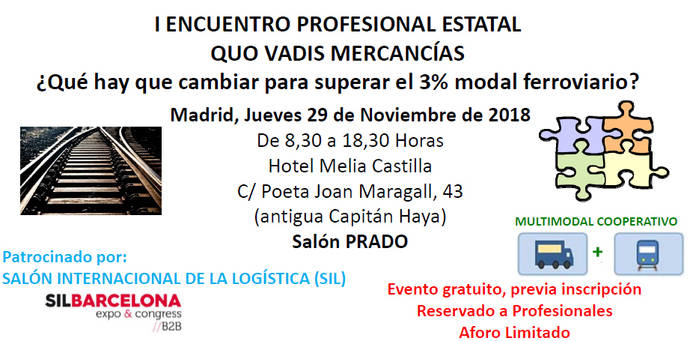 Se celebra el I Encuentro Profesional Estatal Quo Vadis Mercancías