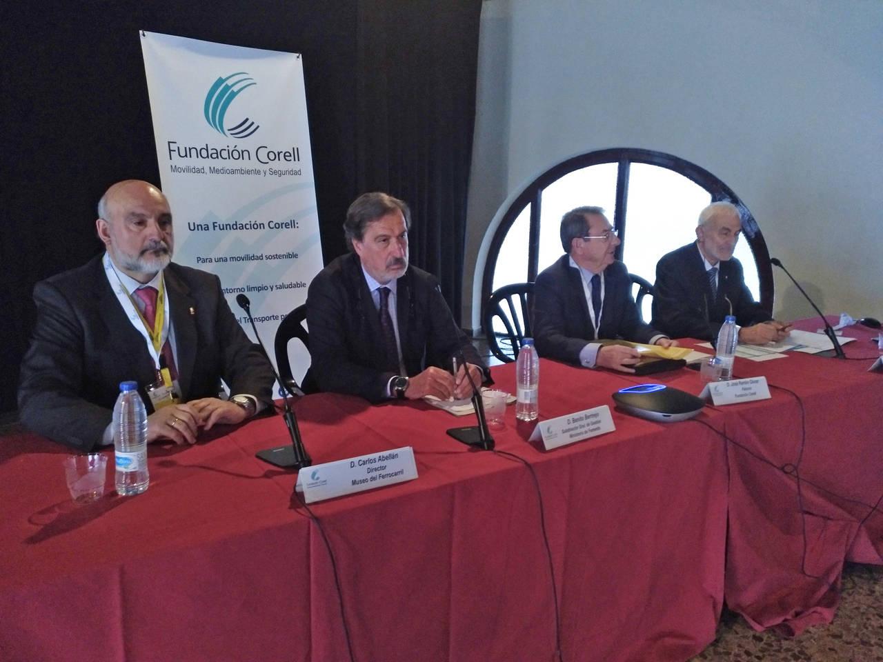 Fundación Corell expone el transporte intermodal
