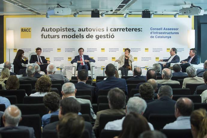 Consejo de Infraestructuras y RACC debaten sobre modelo de gestión de carreteras