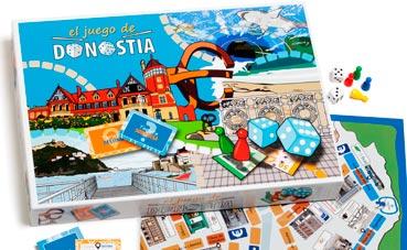 Dbus participa en el juego de mesa de Donostia