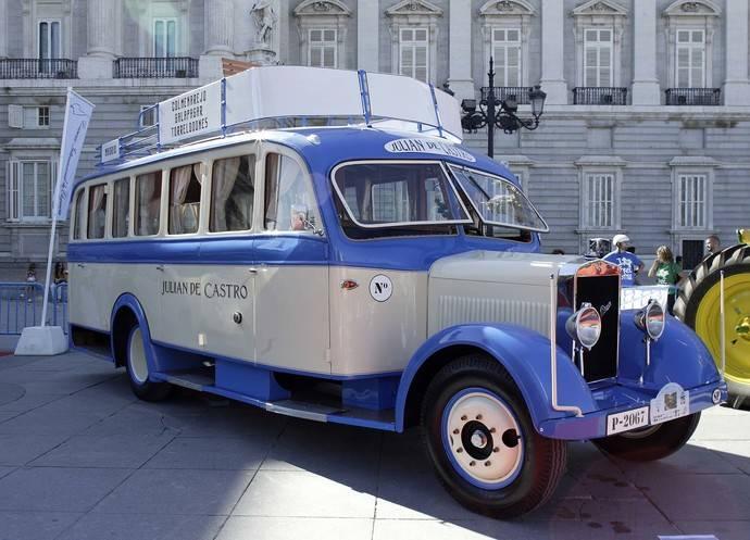 FIAA 2017 acogerá una exposición histórica de transporte profesional