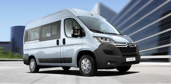 Nuevo equipamiento tecnológico y más conectividad para el Citroën Jumper
