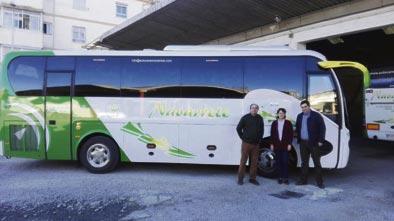 Autocares Navarrete recibe un King Long C9 autoportante