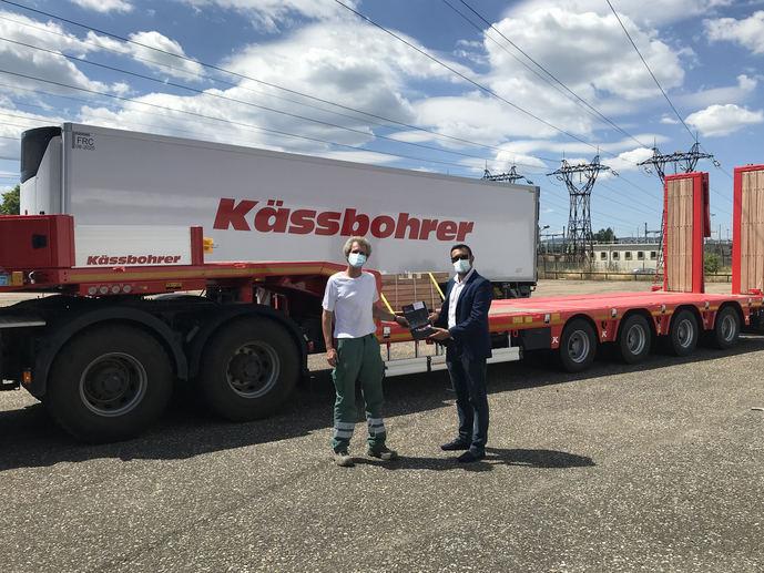 Käsbohrer, asociado con la firma SARL PLVB