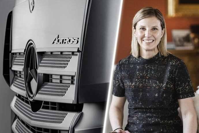 Karin Rådström asume la gestión de Mercedes-Benz Trucks