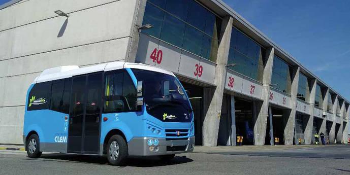 El minibús eléctrico Karsan Jest, a prueba en la EMT de Madrid