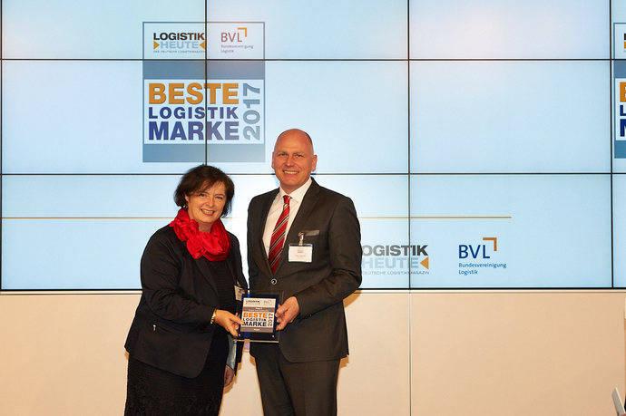 Tercera posición en el premio de Logistik Heute 'Mejor marca logística' para Kögel