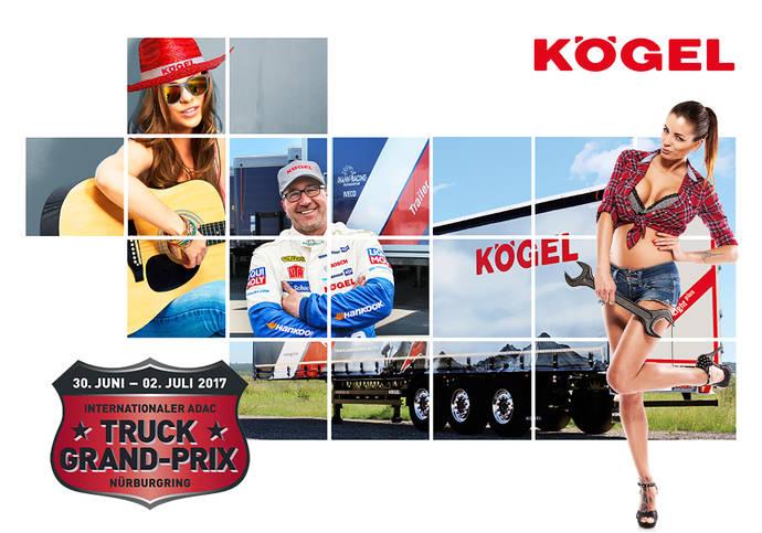Kögel busca levantar pasiones durante el 32º Truck Grand Prix