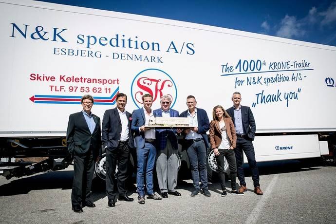 Krone entrega su semirremolque 1000 a N & K