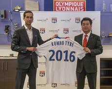 Kumho se convierte en proveedor oficial de neumáticos del Olympique de Lyon