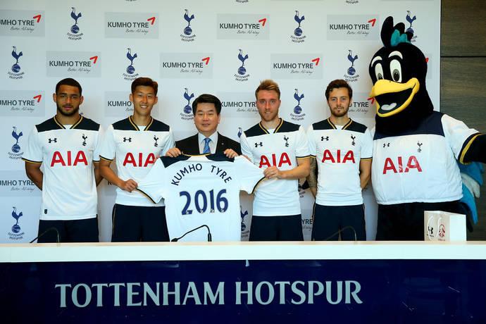 Kumho se convierte en proveedor oficial de neumáticos del Tottenham Hotspur