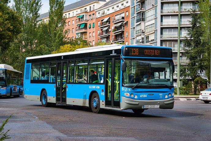 EMT Madrid amplía línea 138 hasta San Ignacio, en el barrio de Las Águilas