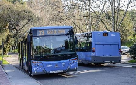 La Línea 33 de la EMT de Madrid amplía su horario