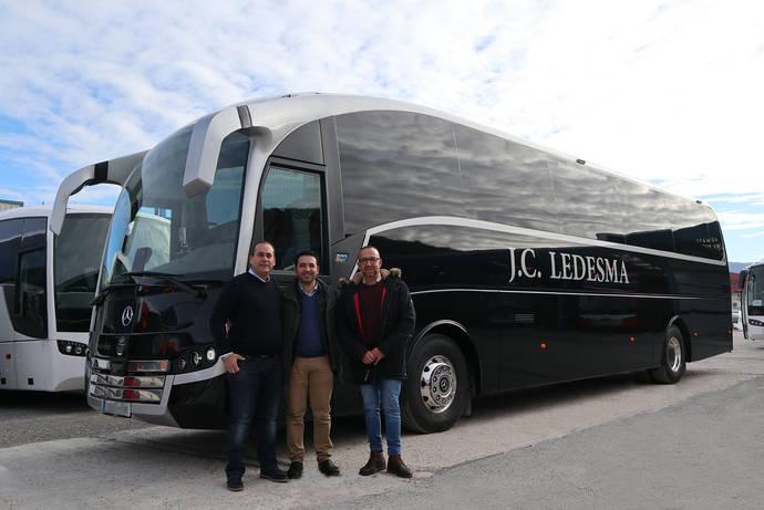 Autocares J.C. Ledesma adquiere un SC7 de Sunsundegui