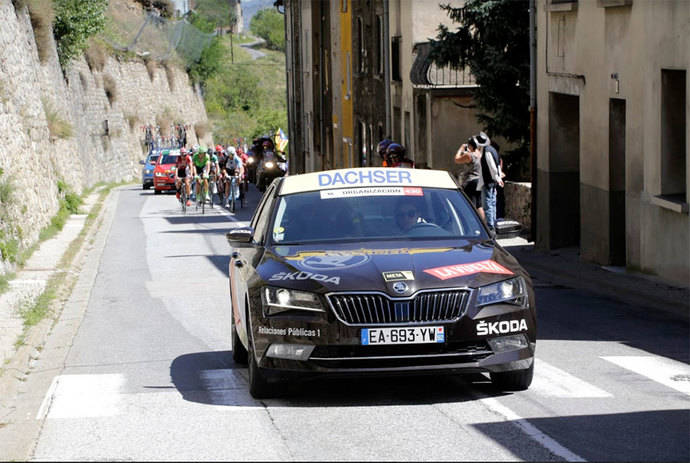 Dachser es logística oficial de La Vuelta a España por 11º año consecutivo