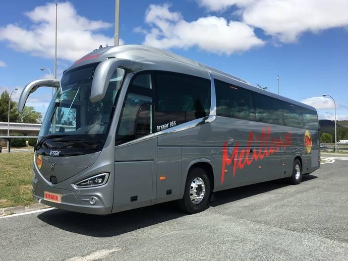 Autocares La Melillense incorpora a su flota un nuevo Volvo B11R con carrocería Irizar