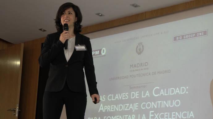 La Sepulvedana representa al sector en el seminario 'Claves de la Calidad' de la UPM