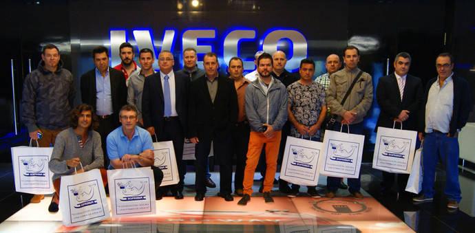 Una delegación de Disfrimur visita las instalaciones de Iveco