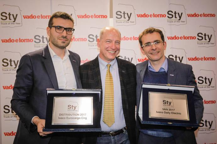 Iveco gana dos de los tres premios de los nuevos 'Sustainable Truck of The Year 2017'