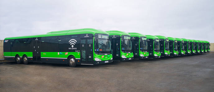 Auto Periferia pone en servicio 13 nuevos autobuses para la concesión Madrid – Las Rozas – Villanueva de la Cañada – Quijorna