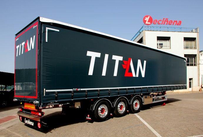 Titán: nueva gama de vehículos de Leciñena