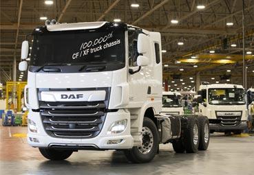 Leyland Trucks fabrica el camión DAF CF/XF número 100.000