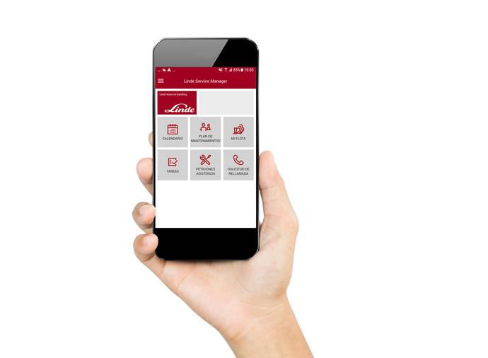 Linde crea una aplicación móvil para la gestión de flotas de carretillas