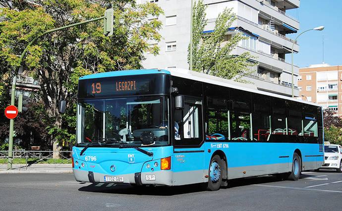 EMT Madrid mejora el servicio en siete de sus líneas
