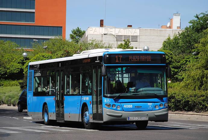La EMT de Madrid aumentará el servicio de buses durante San Isidro