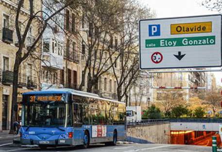 EMT Madrid asume la gestión de los aparcamientos de Olavide y Fuencarral