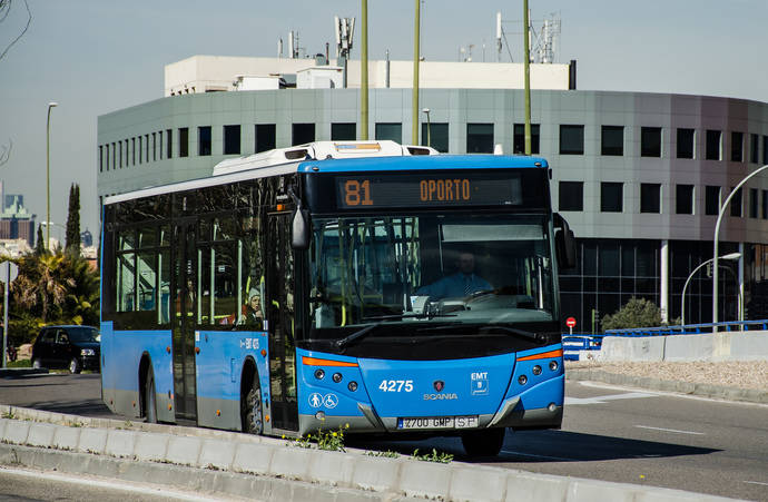 Nuevos itinerarios y paradas para seis líneas de EMT en la Avenida de Oporto