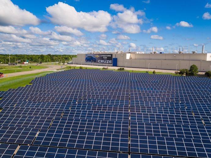 General Motors solo usará energías renovables en 2050