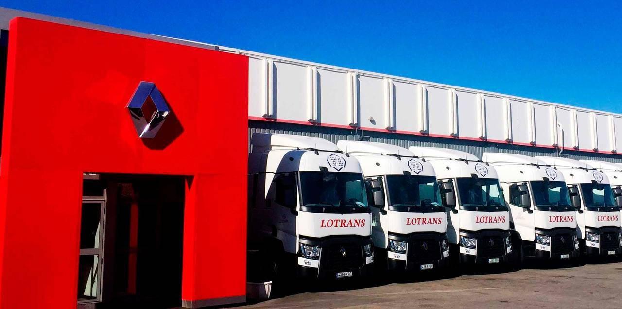 Lotrans renueva su flota con Renault Trucks