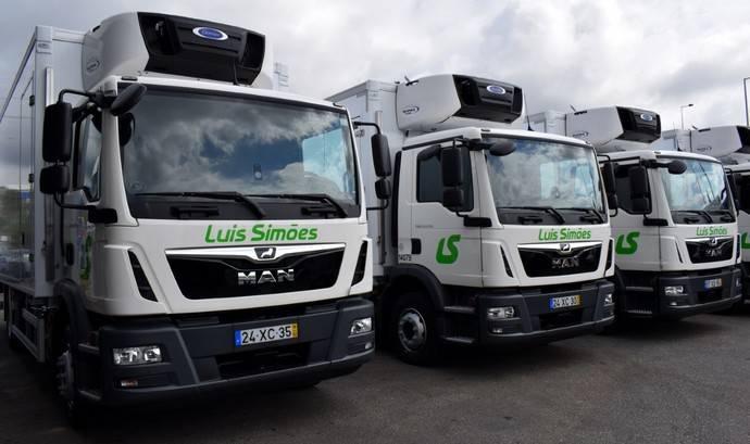 Los nuevos camiones MAN de Luis Simões.