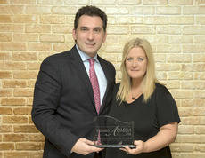 Luis Zubialde, jefe de operaciónes de Palletways, es el Premio Admira 2016
