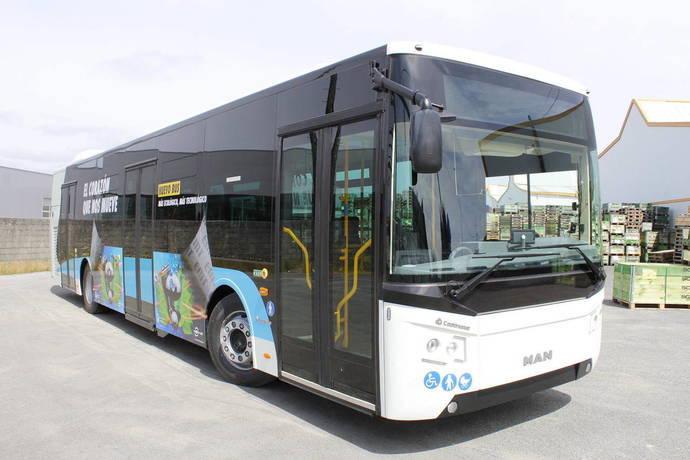 Málaga incorpora cinco autobuses de menor tamaño