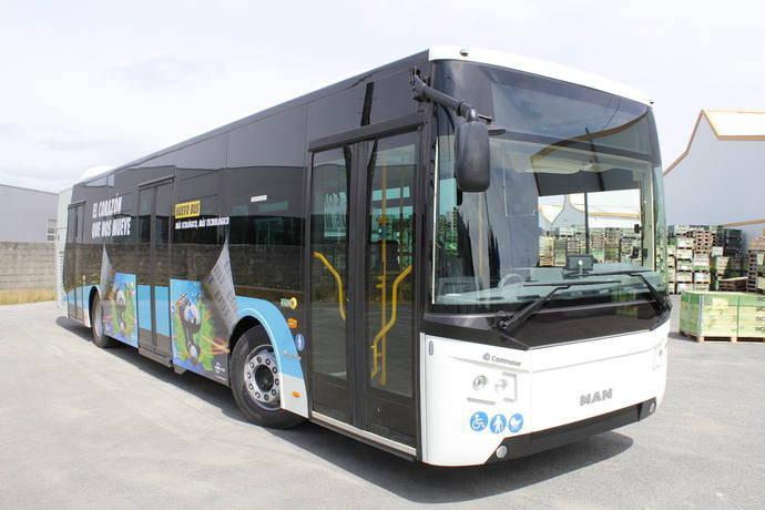 Grupo Castrosua hace entrega de 15 New City a la EMT de Málaga