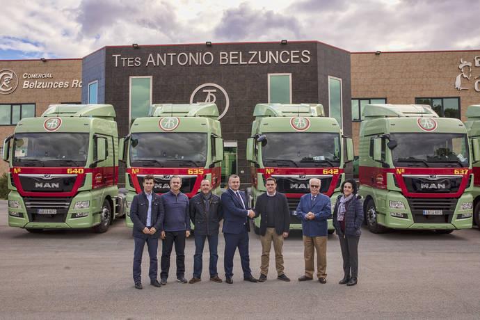 Los nuevos vehículos MAN de Transportes Belzunces.