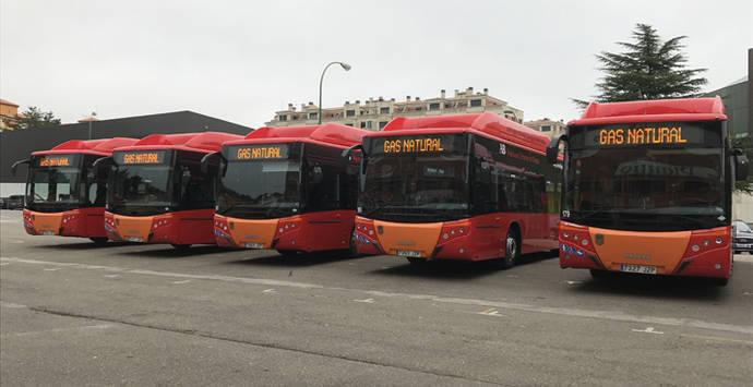 MAN incrementa su presencia en Burgos, con la entrega de cinco nuevos autobuses