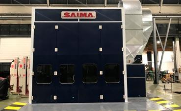 El MAN Center de Barcelona inaugura una novedosa cabina de pintura