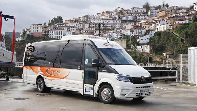 El primer TGE Intercity supera los 20.000 km, en Autocares Cabranes