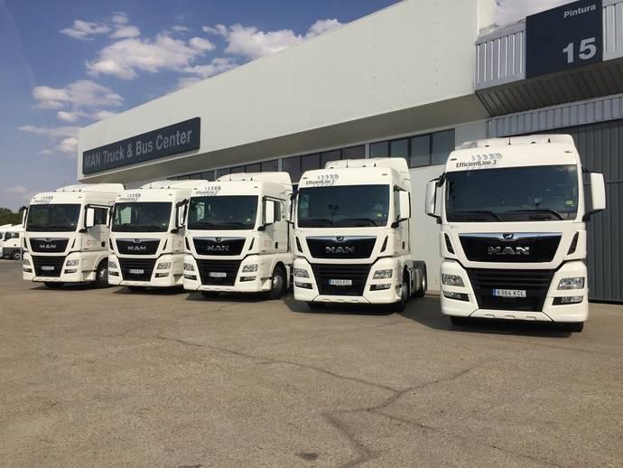 Gamertrans Norte refuerza su servicio internacional con 10 tractoras MAN TGX
