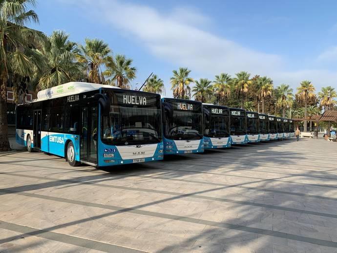 Huelva confía en los autobuses urbanos de MAN