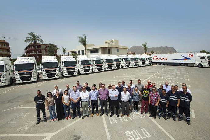 Transportes Perea otorga a MAN la mayor renovación de flota de su historia, con 75 tractoras