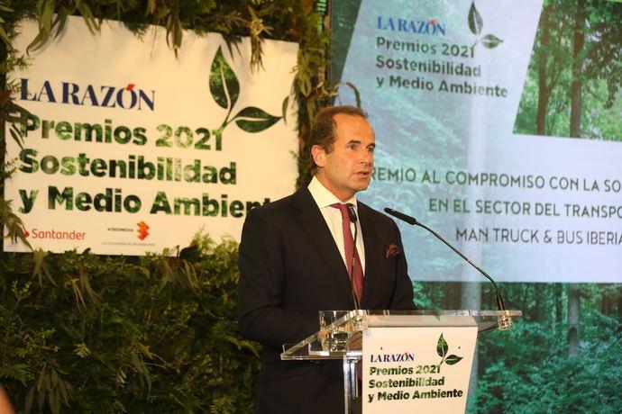 MAN Iberia, premio a la sostenibilidad
