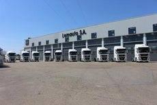 Los 10 modelos adquiridos por la empresa logística.