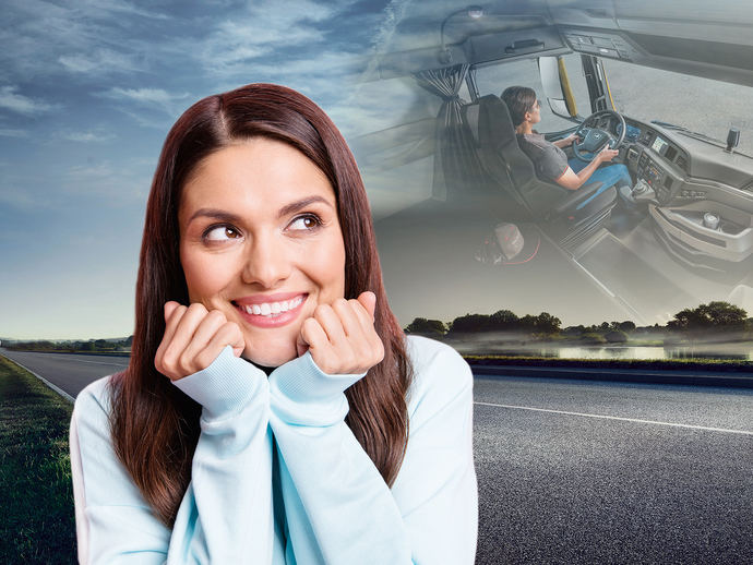 MAN ayuda a las mujeres a ser conductoras profesionales con becas del 70%
