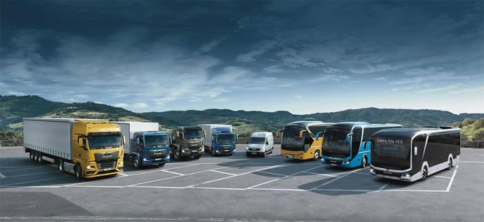MAN Iberia obtiene una cuota de mercado récord en el segmento de camiones